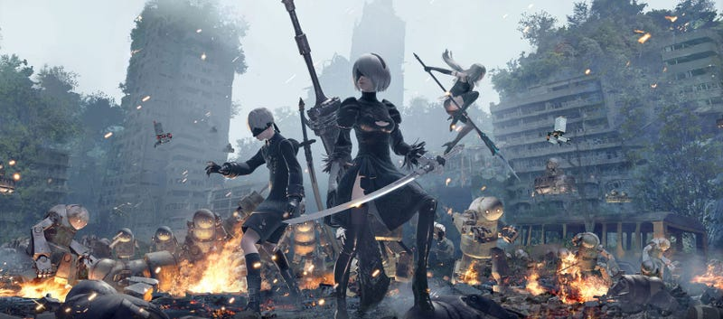 Illustration for article titled Fan Creates Patch To Fix Nier: Automata's Graphics