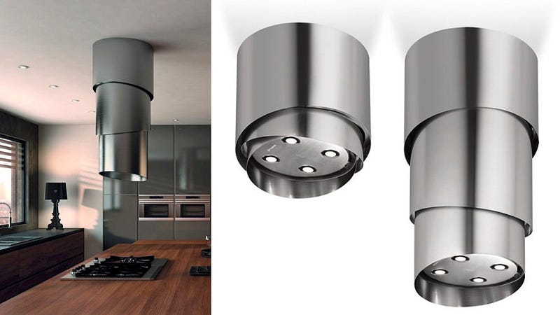 Illustration for article titled Is This a Gorgeous Range Hood Or a UFO Abduction Tube?