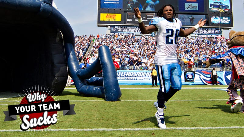 Illustration for article titled Why Your Team Sucks 2013: Tennessee Titans