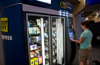 Illustration for article titled Best Buy Vending Machine Haunts Dallas/Fort Worth Airport