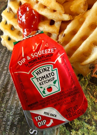 Illustration for article titled Heinz Puts Way Too Much Thought Into Revamped Ketchup Packet
