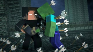 Illustration for article titled Every Monster Dies in this Badass Minecraft Fighting Animation