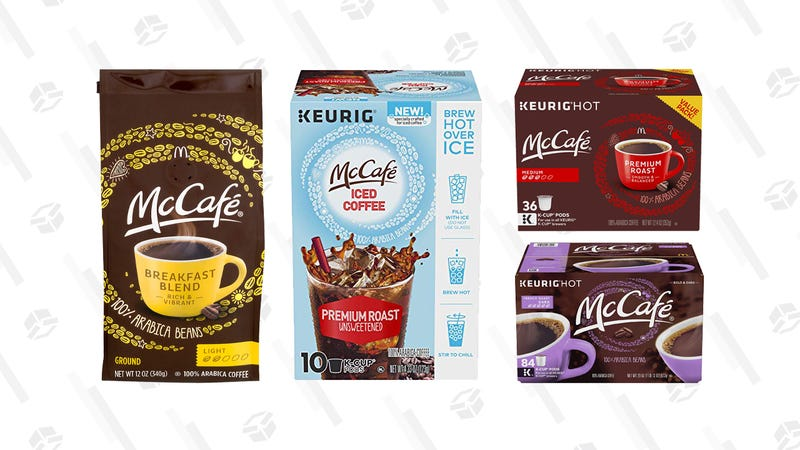 McCafe K-Cups and Coffee Gold Box | Amazon