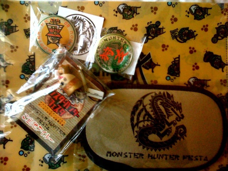 Illustration for article titled Big Game Hunting: The Schwag of Monster Hunter