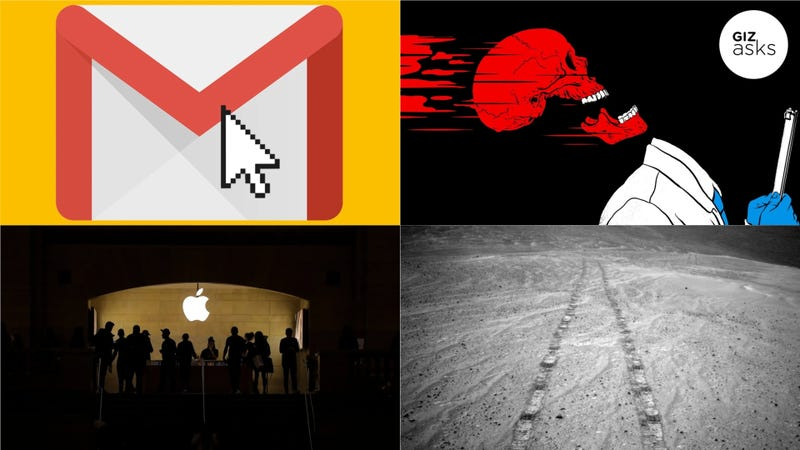 Opportunity Rover, New Gmail Features, and Death Speeds: Best Gizmodo Stories of the Week