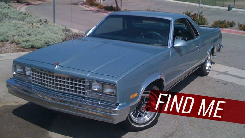 Illustration for article titled Let's Help Track Down This Stolen El Camino