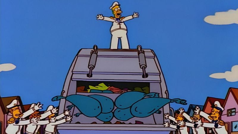 Illustration for article titled The Simpsons' 200th ends by uprooting all of Springfield—you know, as one does