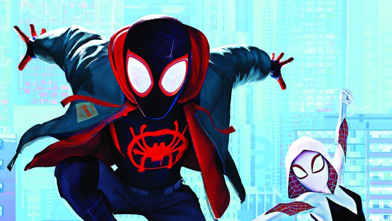 Miles Morales and Gwen Stacy are bursting into your homes this week with the Spider-Man: Into the Spider-Verse Blu-ray.