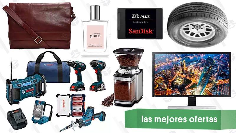 Illustration for article titled Las mejores ofertas de este martes: Herramientas de Bosch, llantas, monitor 4K y más