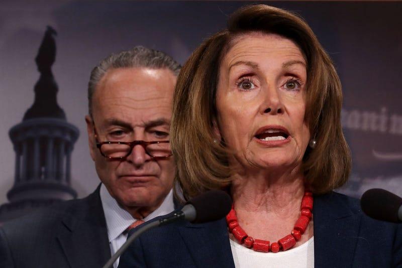 Senate Minority Leader Chuck Schumer and House Minority Leader Nancy Pelosi (Chip Somodevilla/Getty Images)