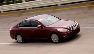 Illustration for article titled 2009 Hyundai Genesis Earns Five-Star NHTSA Crash Test Scores