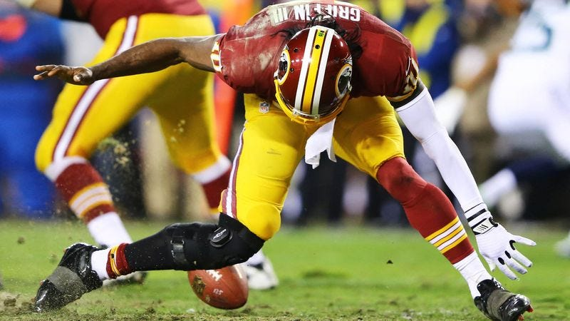 Illustration for article titled RGIII To Have More Tests Done On Thing That Used To Be Knee