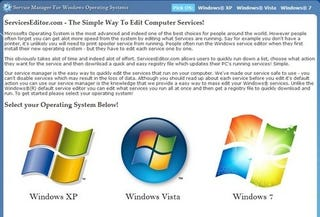 Illustration for article titled ServicesEditor Makes Resetting and Tweaking Windows Services Simple