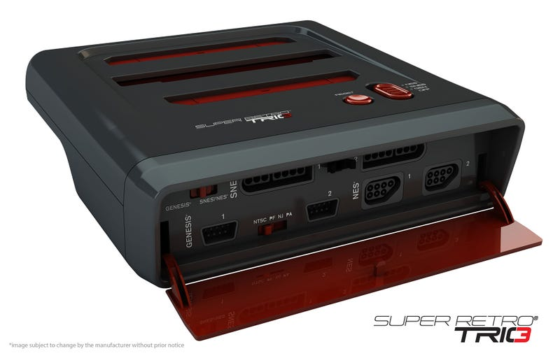 Illustration for article titled The Super Retro Trio Is Three Classic Consoles In One
