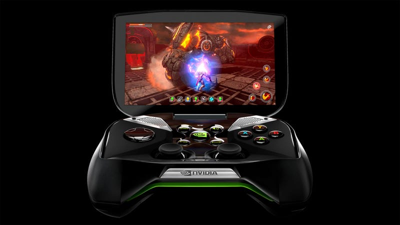Illustration for article titled Get a Good Look At Nvidia's New Gaming Handheld