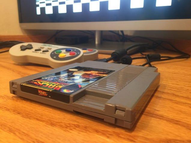 Make a Raspberry Pi-Powered Retro Console Inside a NES Cartridge