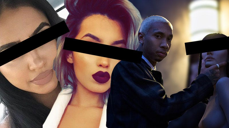 Illustration for article titled Tyga Has Been Seen With Three Kylie 'Lookalikes' This Year, But Do They Really Look Like Kylie?