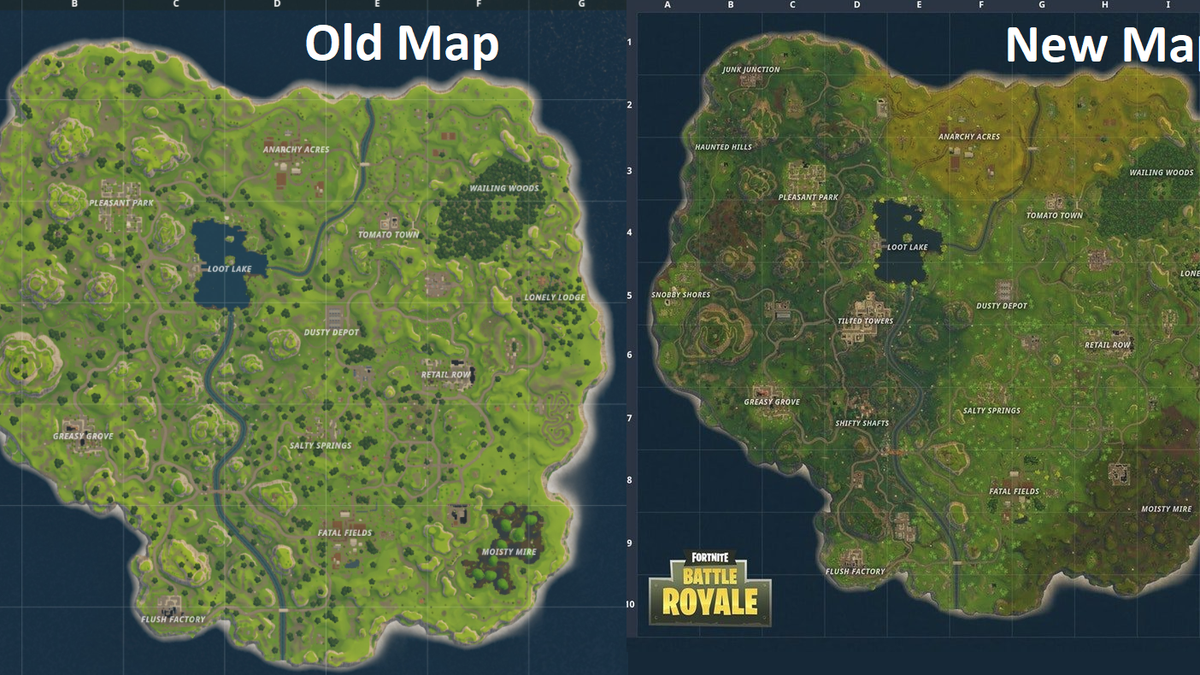 Fortnite Battle Royales New Map Makes Death Fast And Fun