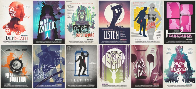Illustration for article titled These gorgeous Doctor Who posters can be yours soon