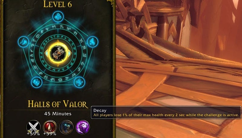 Illustration for article titled World of Warcraft Is Getting New Challenge Modes, Similar To Diablo's