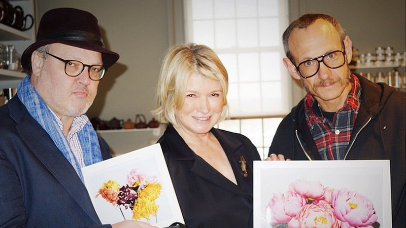 Illustration for article titled ​Martha Stewart Hung Out with Terry Richardson for Thanksgiving