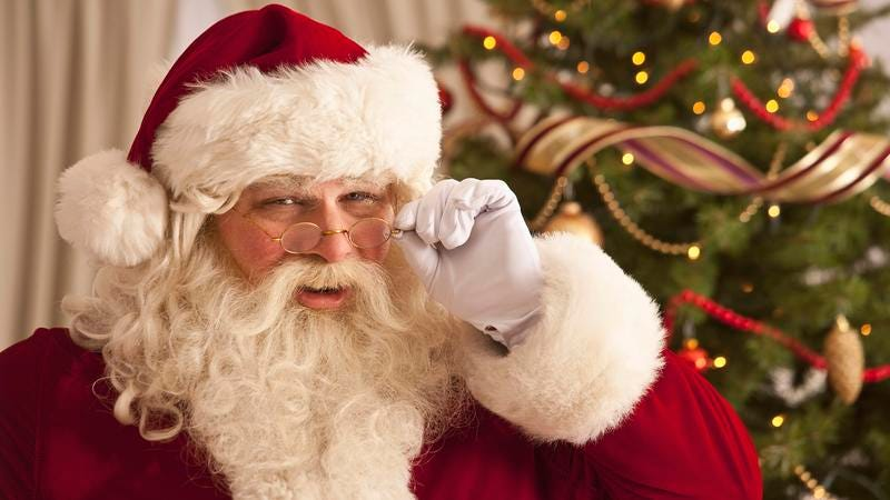 Can You Be Trusted With Some Bad News About Santa's Prostate?