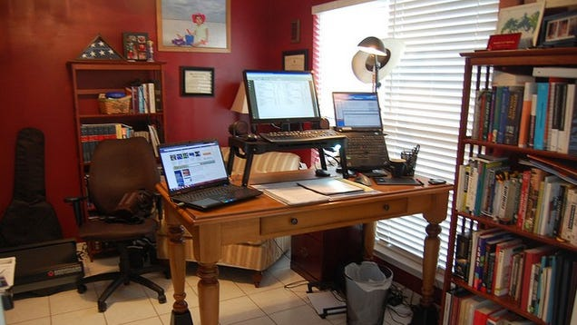 The Riser Desk A Diy Standing Workspace On The Cheap