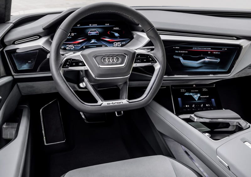 Audi S Car Interior Of The Future Has Screens Everywhere