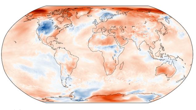 Breaking: Earth Hot