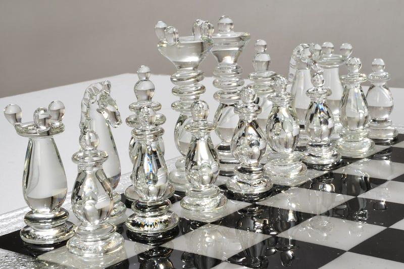 Murano Glass Chess Set