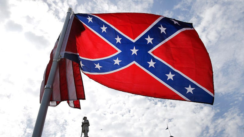 Illustration for article titled Southern Baptist Convention Votes to Discourage Display of Confederate Flag at Member Churches