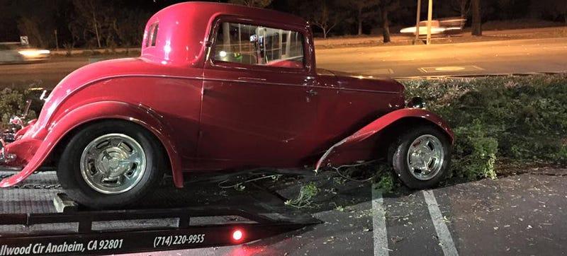Illustration for article titled American Hot Rod Star Arrested For Drunk Driving Crash In '32 Ford