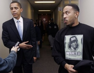 """Illustration for article titled Ludacris Wins """"Most Intelligent Political Commentary"""" Of The Week Award"""