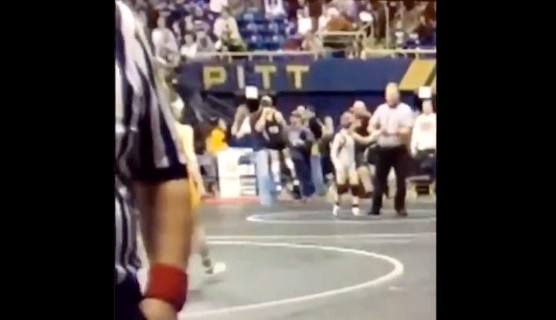 Eric Angle Charged With Assault After Lifting Youth Wrestler By His Neck