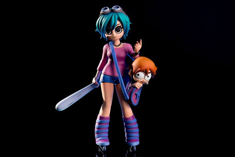 Illustration for article titled Look At This Ramona Flowers Action Figure