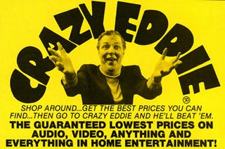 Illustration for article titled Everything About Crazy Eddie Was Completely Insane