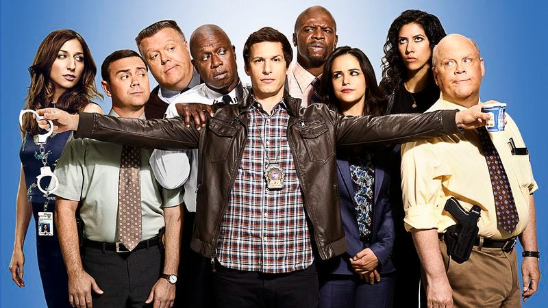 The cast of Brooklyn Nine-Nine's mostly true, partially