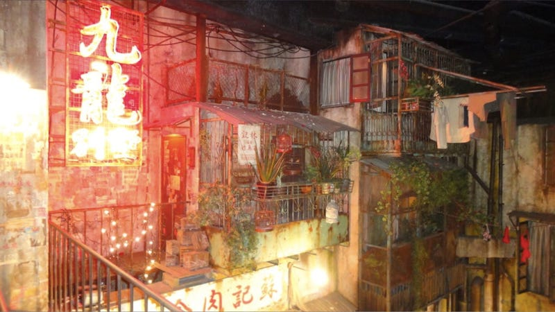 Illustration for article titled Inside the Japanese Arcade That Looks Like a Hong Kong Slum