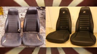 Illustration for article titled Transform Junker Car Seats into Good-Looking, Comfortable Office Chairs