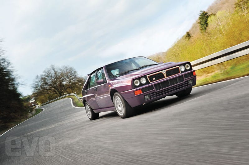 Illustration for article titled EVO Magazine Drives the Lancia Delta Integrale Evo 3
