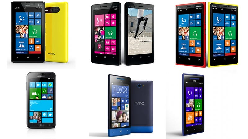 Illustration for article titled All the Windows Phone 8 Handsets That Have Been Announced So Far