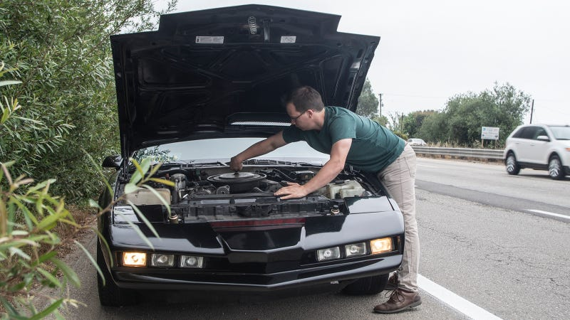 Here's What To Do When You Rent KITT From Knight Rider On