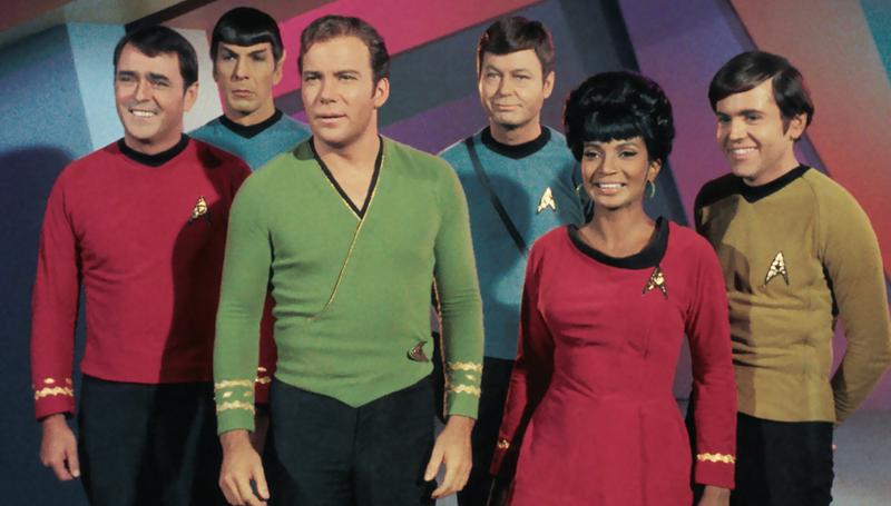 The original Star Trek crew.
