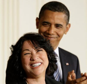 "Illustration for article titled Rush Limbaugh Goes Wah, Cries ""Racism"" Over Sotomayor & Obama"