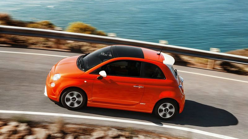 You Can Lease This Electric Car For Virtually Nothing - Fiat lease special