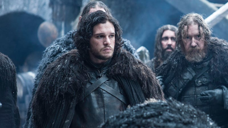 Jon Snow Has Been Battling White Walkers While Wearing An Ikea Rug