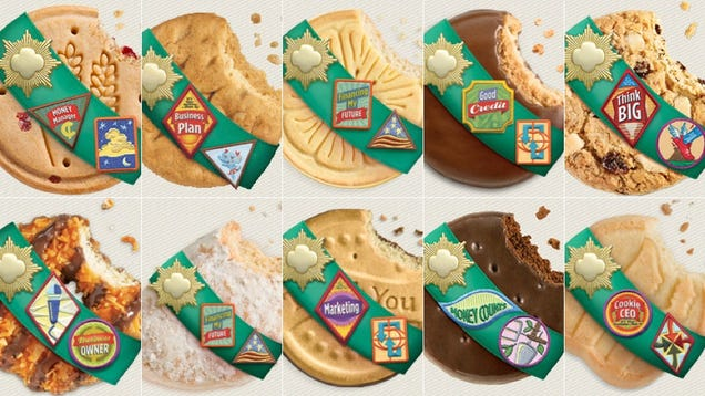 the definitive ranking of girl scout cookies