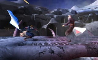 Illustration for article titled Star Wars: The Clone Wars: Hot Lightsaber Action