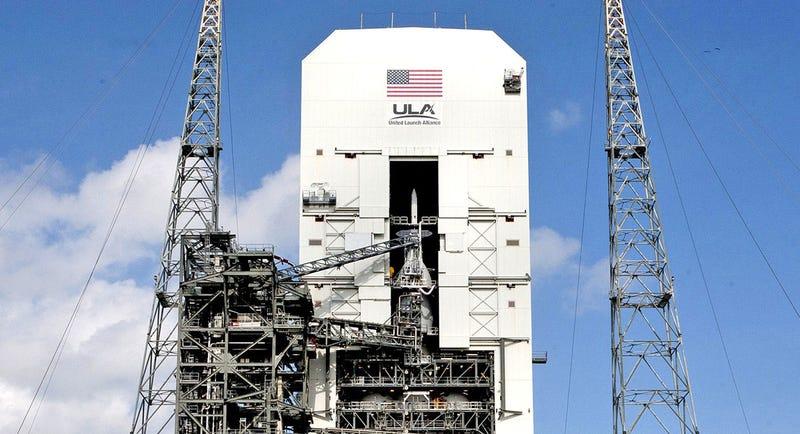 Illustration for article titled La nave espacial tripulada Orión ya está lista para su lanzamiento