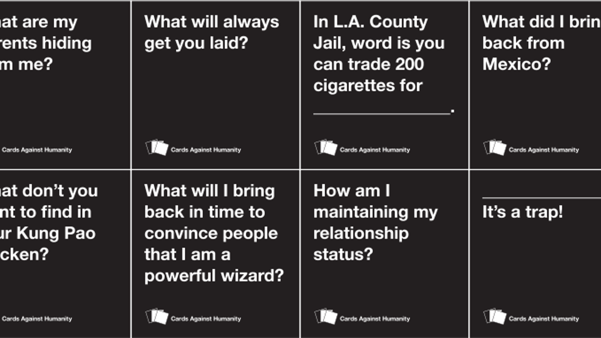graphic relating to Cards Against Humanity Printable identified as Playing cards Towards Humanitys Never ever-Finishing Beat From Copycats